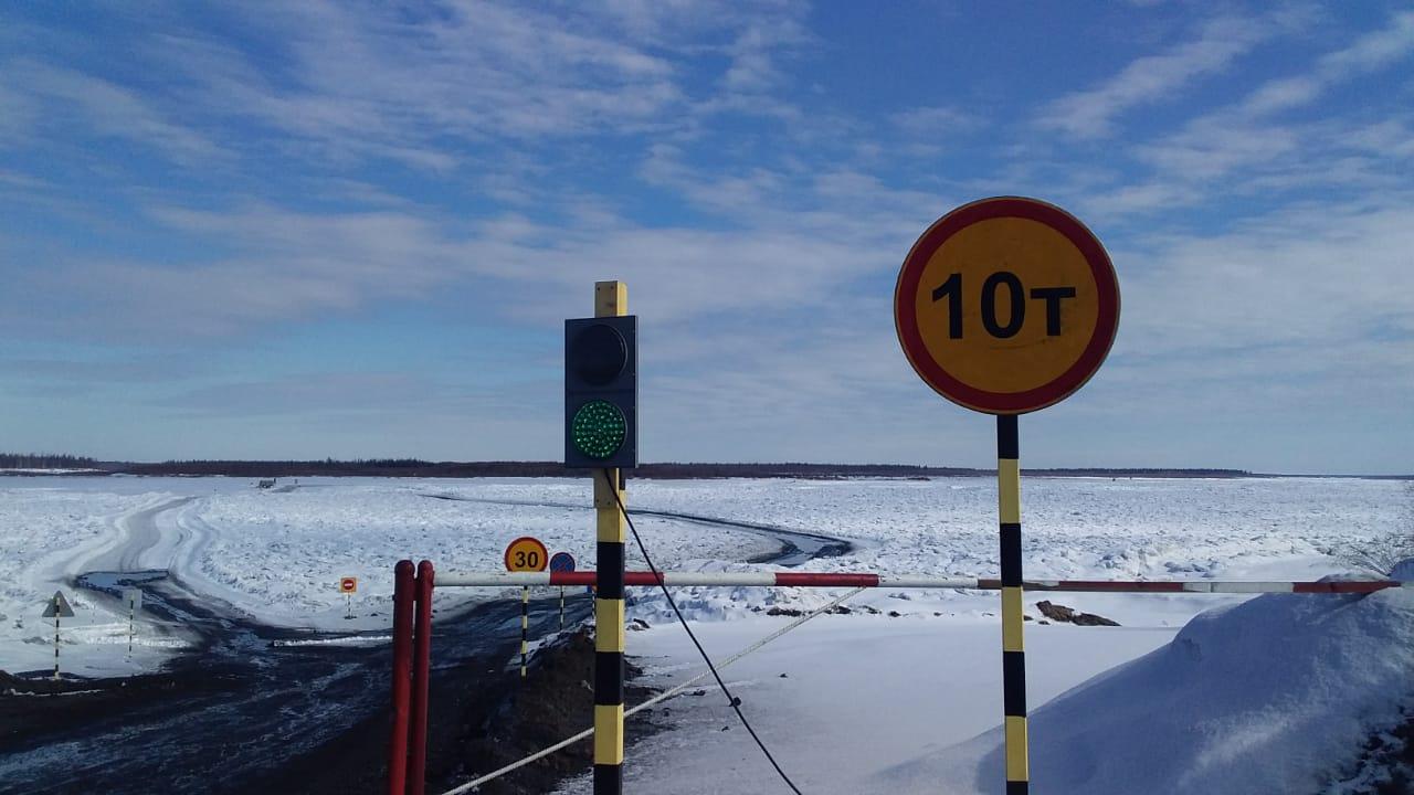 О закрытии движения для всех видов автомобильного транспорта  на ледовом автозимнике Якутск – Нижний Бестях