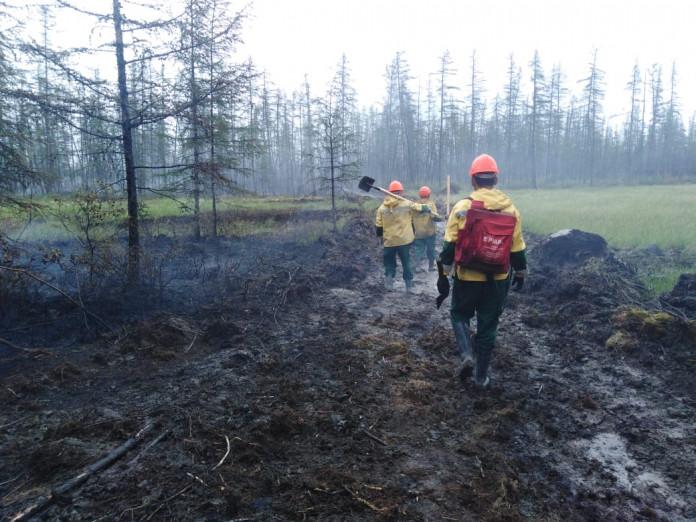 В Якутии за сутки ликвидировано 8 природных пожаров