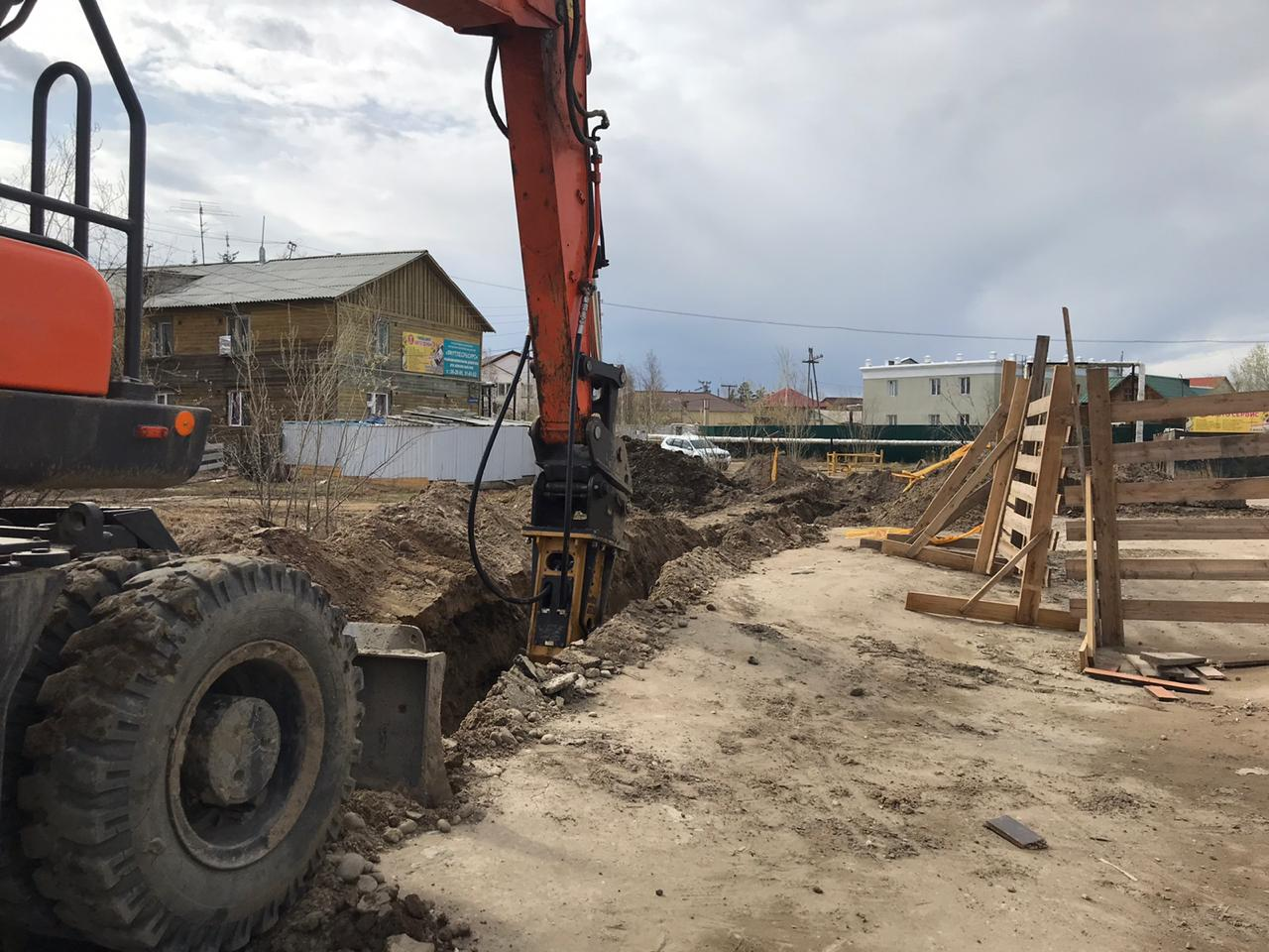 Техническое перевооружение устаревшего газопровода на улице Кеши Алексеева