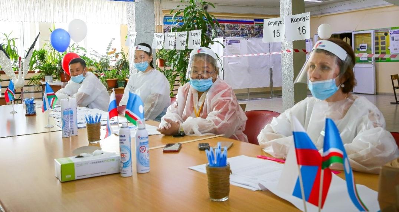 Общероссийское голосование: на 29 июня в Якутске досрочно проголосовали более 40 тысяч граждан