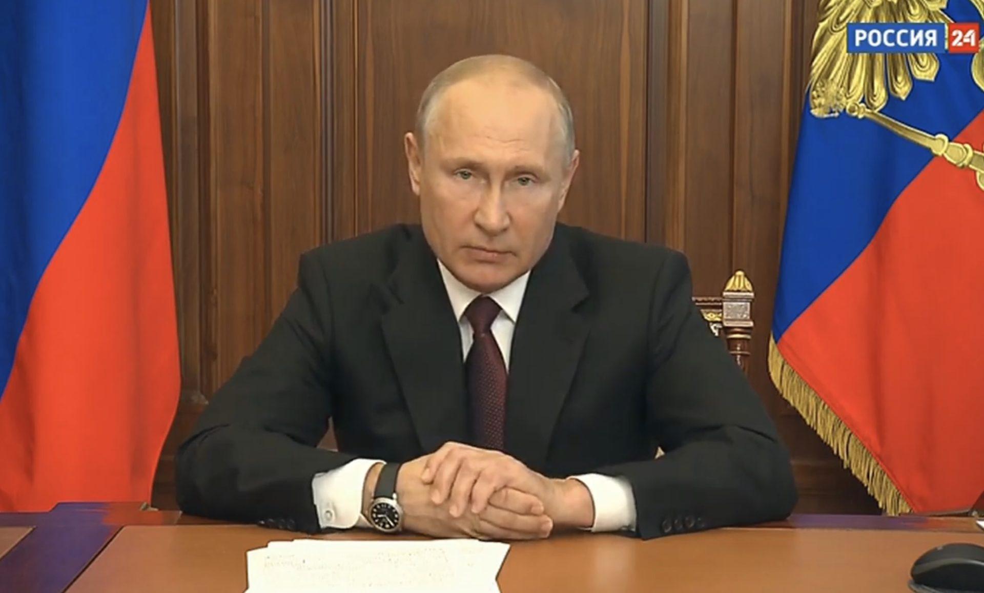 Главное из нового обращения Путина к россиянам