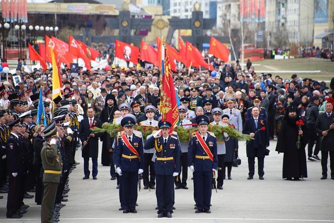 В Параде Победы на Красной площади примут участие военнослужащие из Якутии