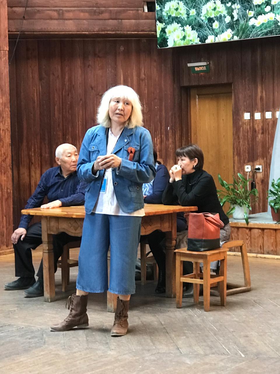 Общественник Елизавета ГАВРИЛЬЕВА дойду Төрүт сокуонун уларытары утарыахха диэн ыҥырар
