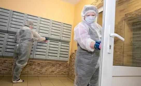 Проведение санобработки подъездов жилых домов в Якутске на 18 часов 25 июня