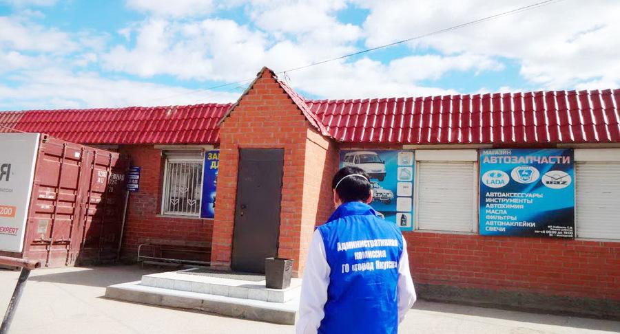 В Якутске составлено 66 административных протоколов на нарушителей масочного режима в сфере торговли и общепита