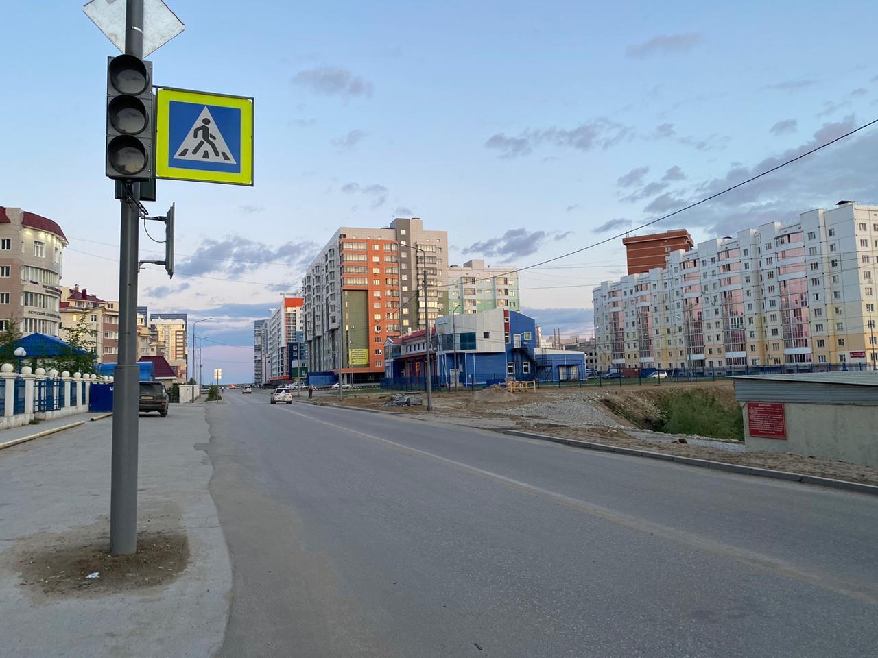 В Якутске продолжается ремонт переходящих объектов и гарантийные работы улично-дорожной сети