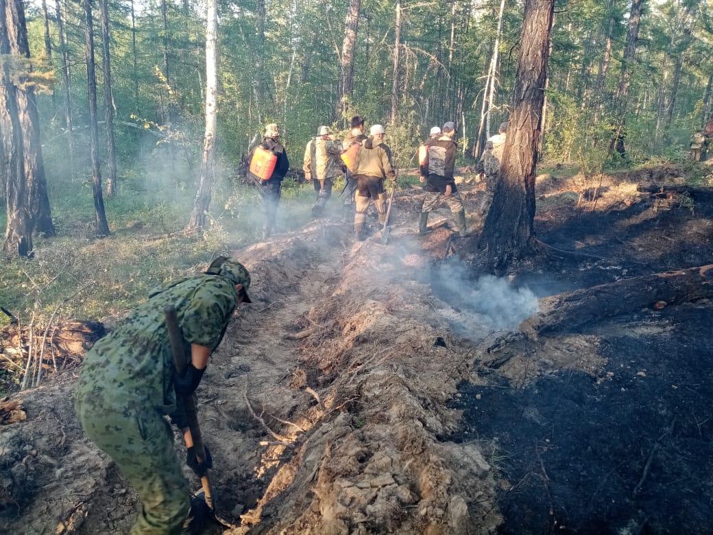 Замглавы села Сватай Дария Борисова: На тушении пожара работают около 130 человек