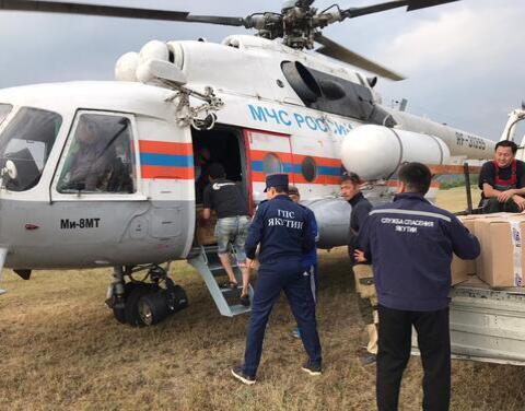 Лесные пожары в 14 населенных пунктах Якутии находятся на контроле