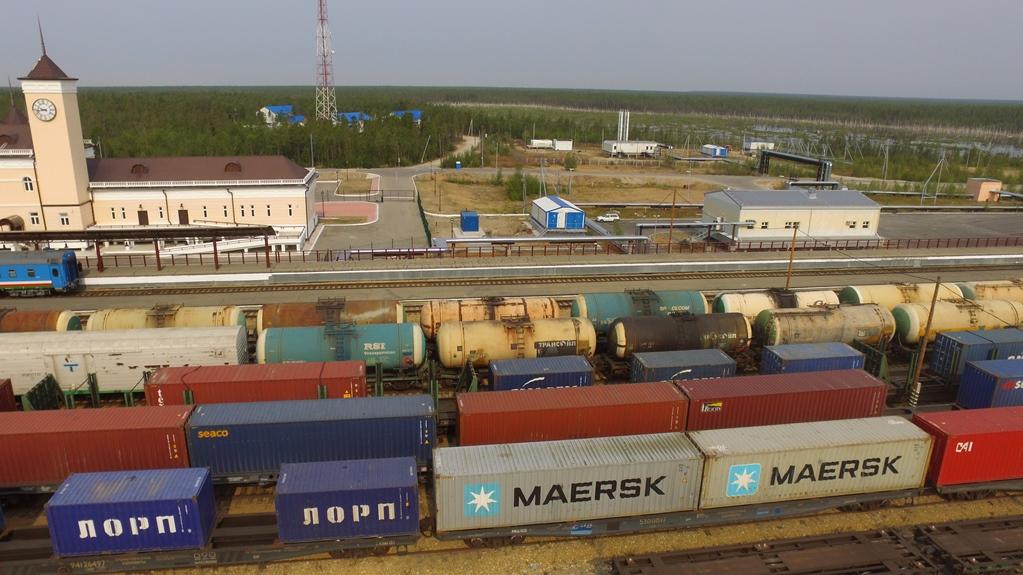 Грузооборот по железнодорожной линии Нерюнгри —  Нижний Бестях вырос на 91%