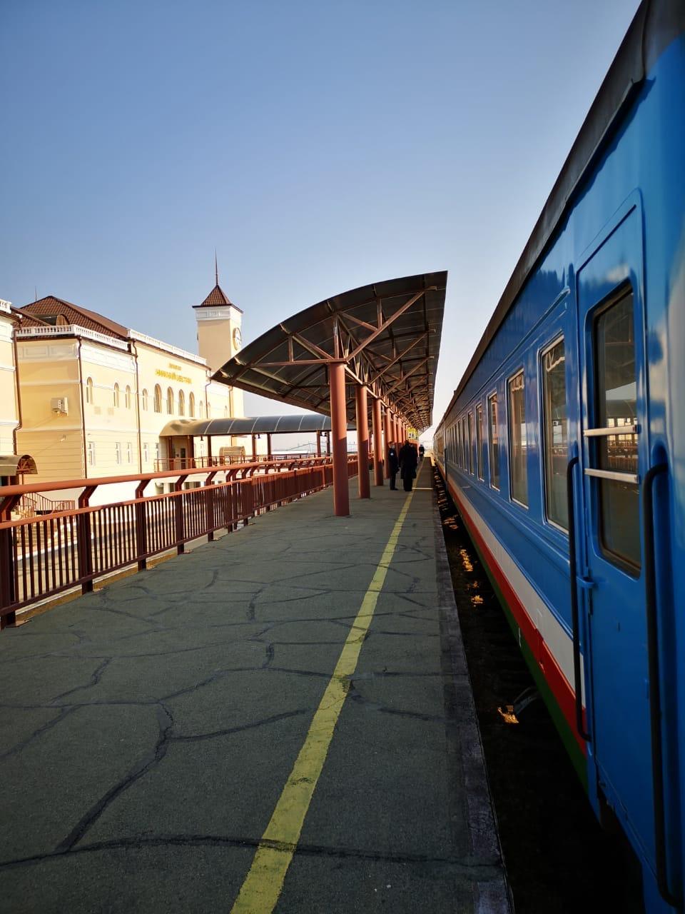Сегодня с Нижнего Бестяха пассажирский поезд начинает курсировать в ежедневном режиме