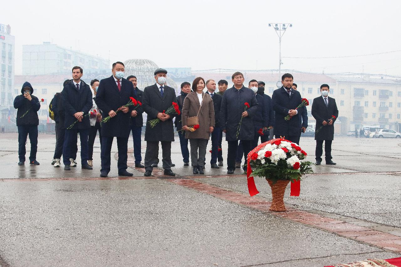 Якутск отмечает День государственности Республики Саха (Якутия)