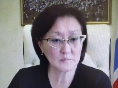 Сардана Авксентьева приняла участие в Сентябрьском совещании работников образования