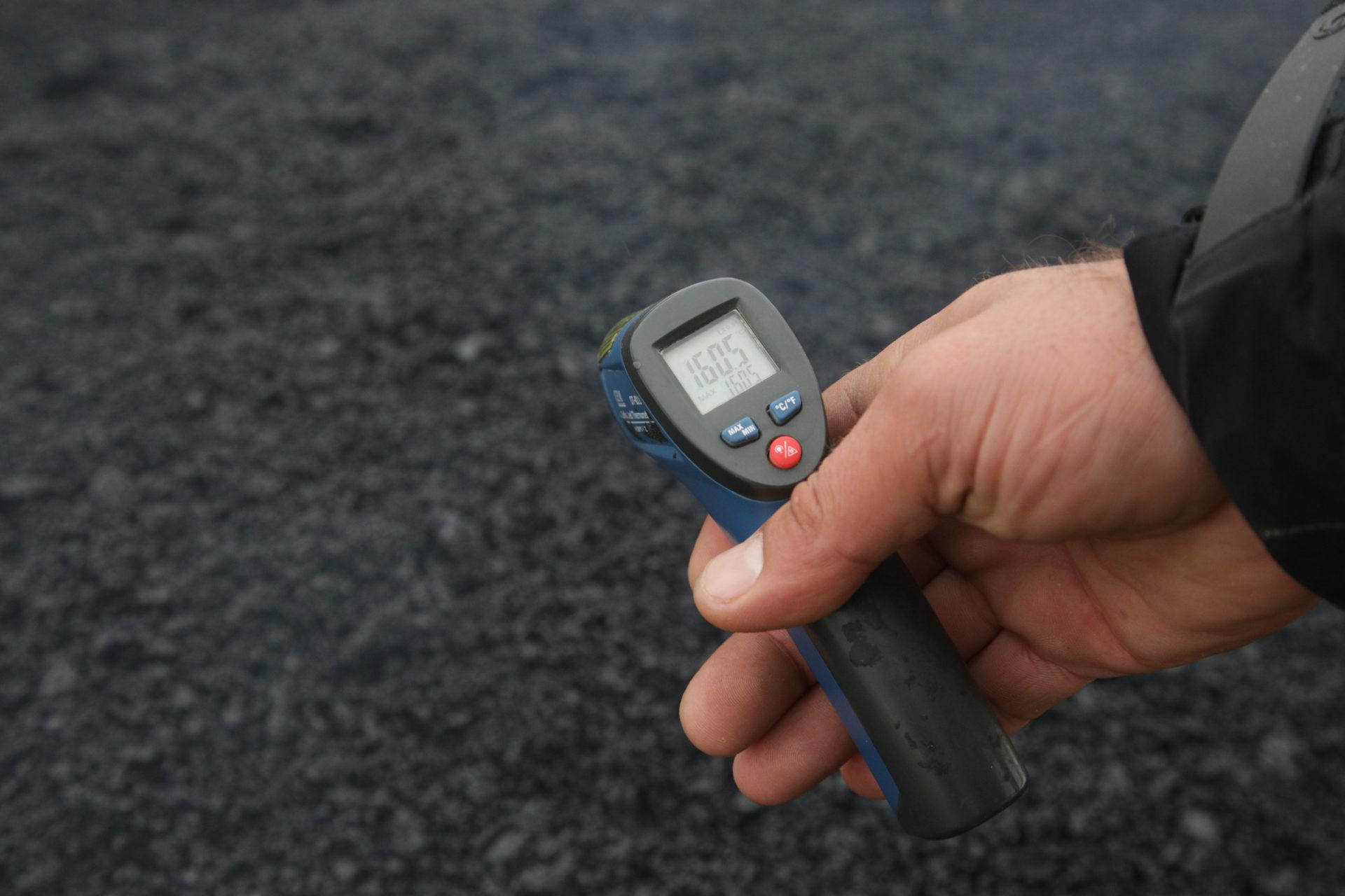 МКУ «Главстрой»: «Подрядчики обязаны соблюдать технологию укладки асфальта при температуре до -10ºС»