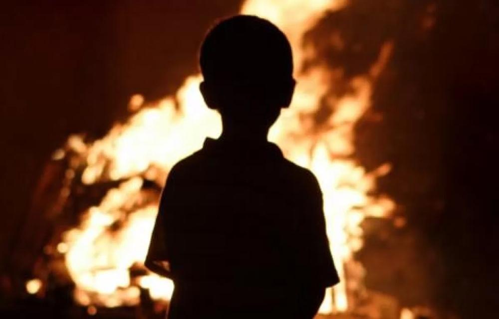 Соблюдайте правила пожарной безопасности, не оставляйте детей без присмотра!