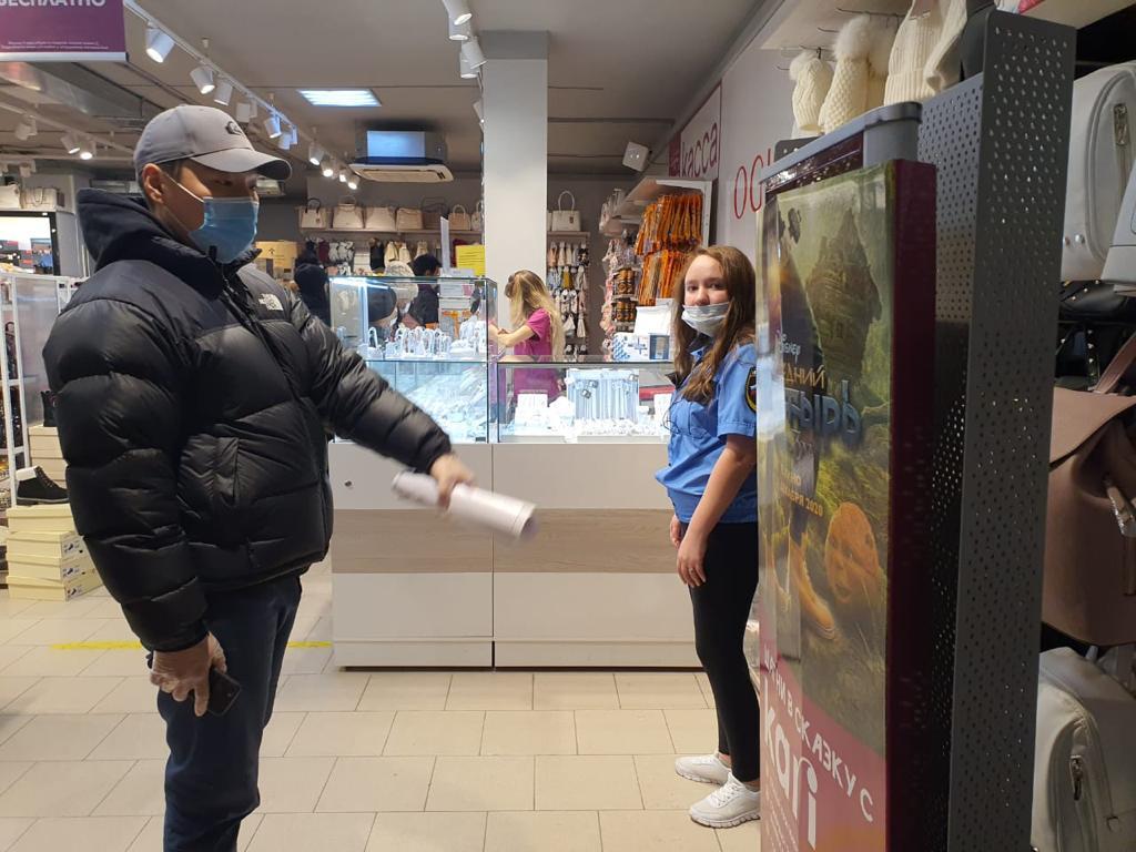Оперштаб Якутска проверил торговые центры на соблюдение санитарно-противоэпидемических требований