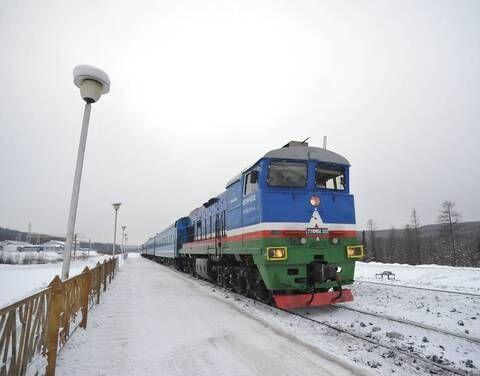 Амурчанка поблагодарила железнодорожников Якутии и экипаж теплохода «Рукавишников»
