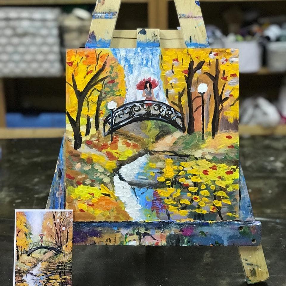 Изостудия @artfox.studio провела благотворительный мастер-класс по живописи в Центре помощи семьям