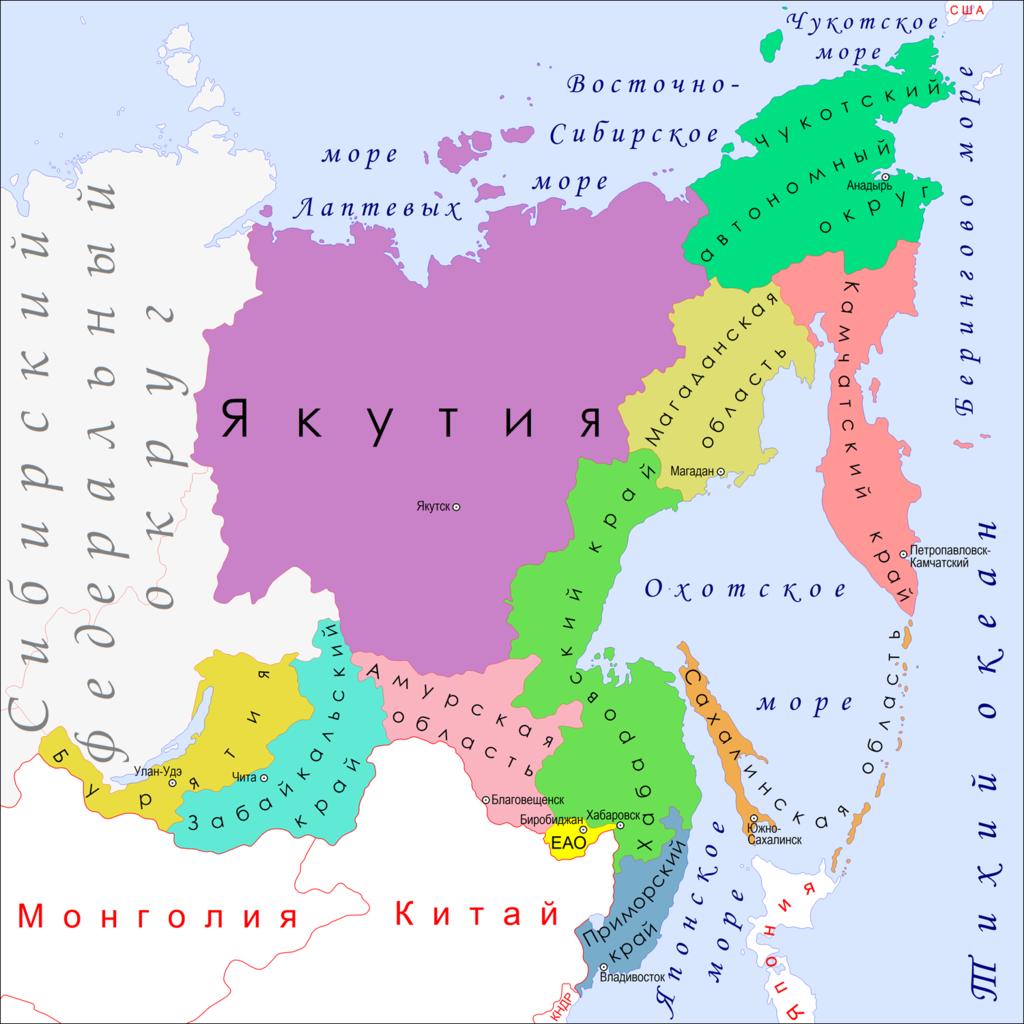 Захват Дальнего Востока?