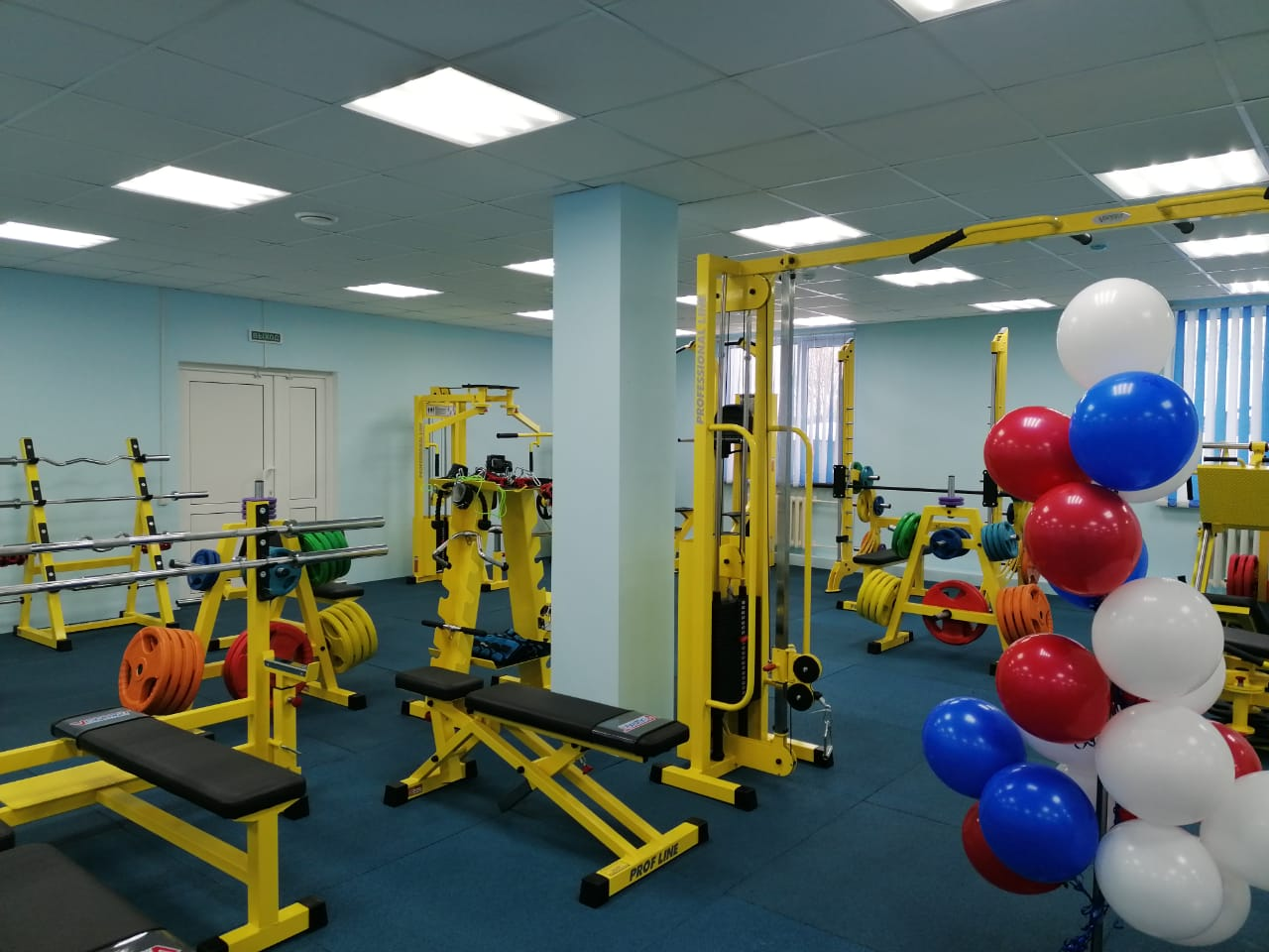 Фитнес-клуб «Железка» распахнул свои двери