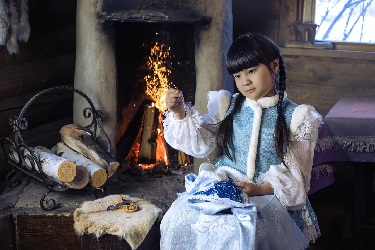 В Якутске представили фотопроект «Три возраста якутской зимы» Ксении Пироговской