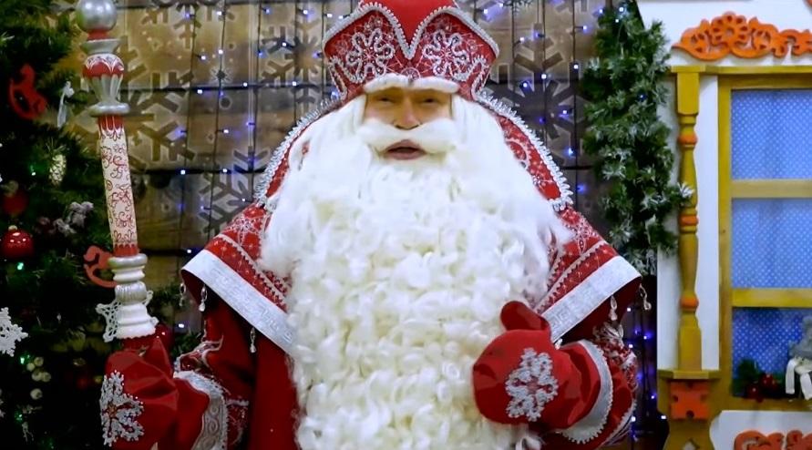 Дед Мороз из Великого Устюга обратился к якутянам