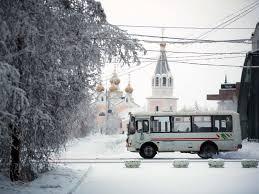 В Якутске установлен график движения автобусов в новогодние праздники