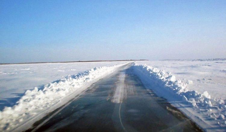 Увеличена грузоподъемность ледовых переправ на федеральной трассе А-331 «Вилюй»