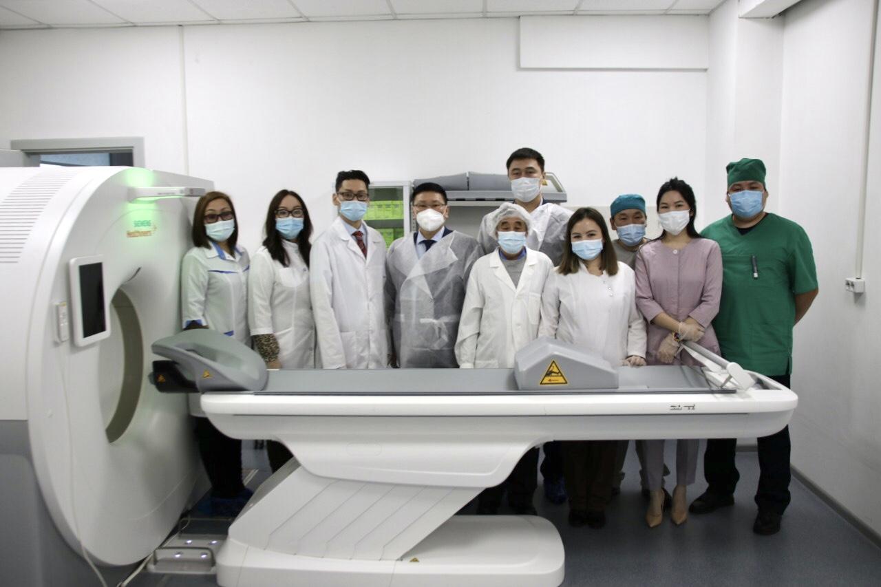 Сунтаар  балыаһатыгар  компьютернай томограф кабинета аһылынна