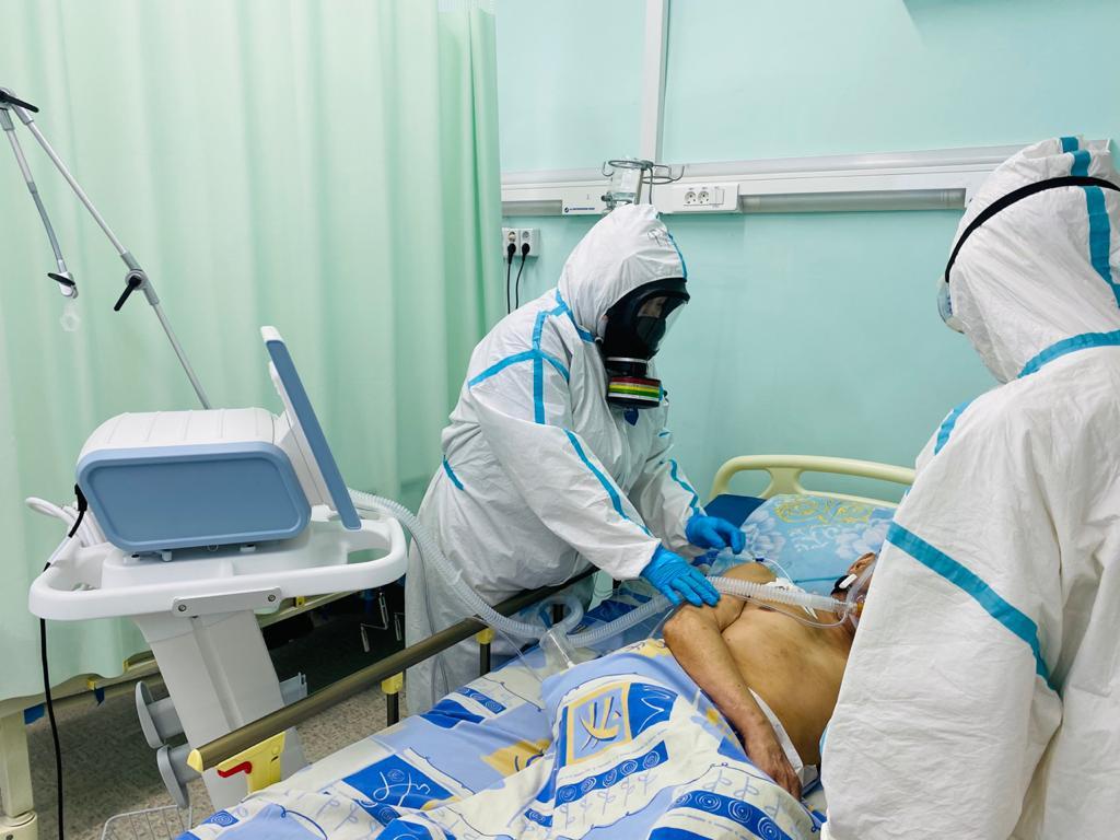 Герцентр РКБ №3 оснащен новым передовым оборудованием для лечения пожилых пациентов