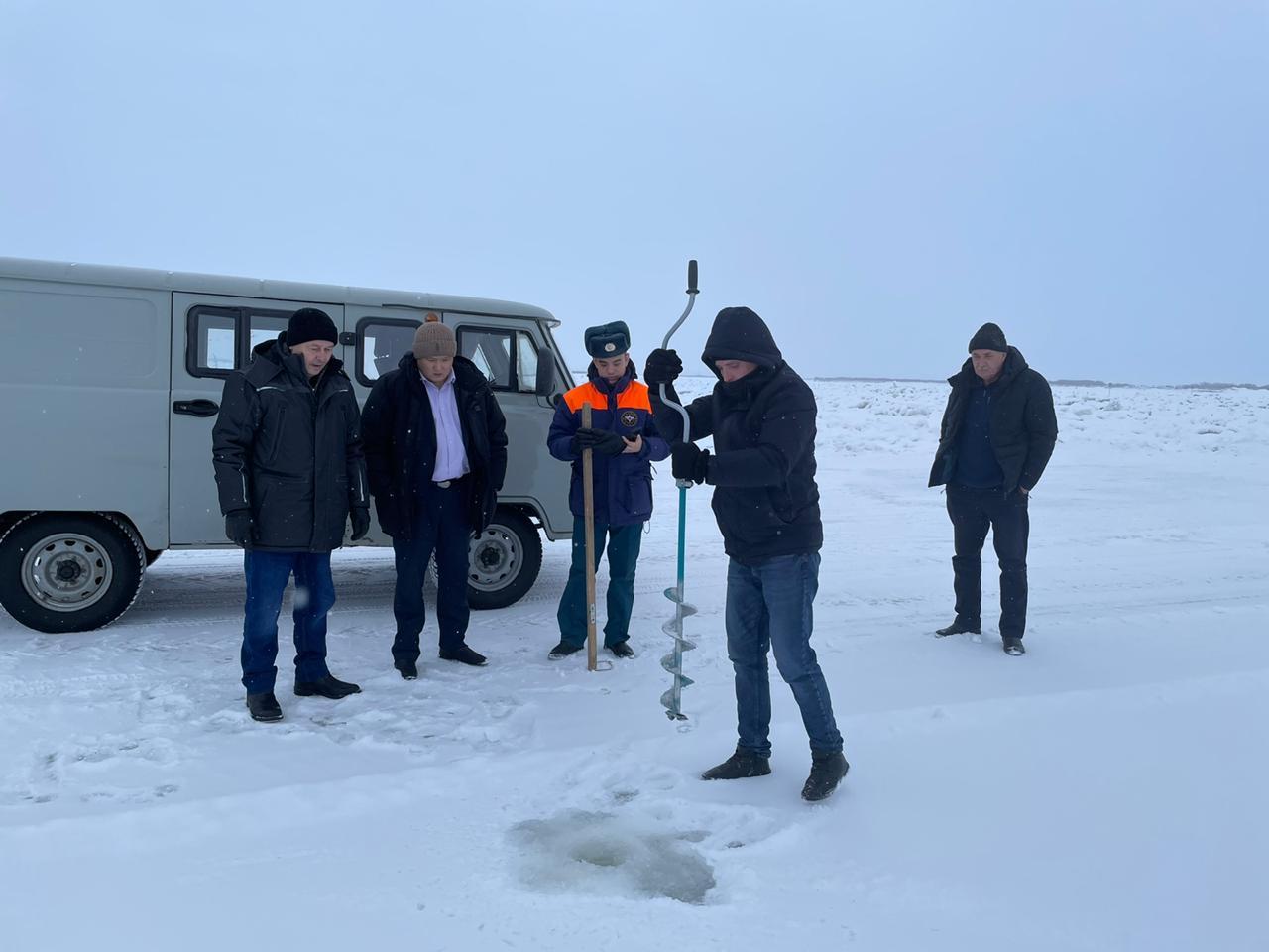 На территории Якутска и Мегино-Кангаласского района открыта ледовая переправа