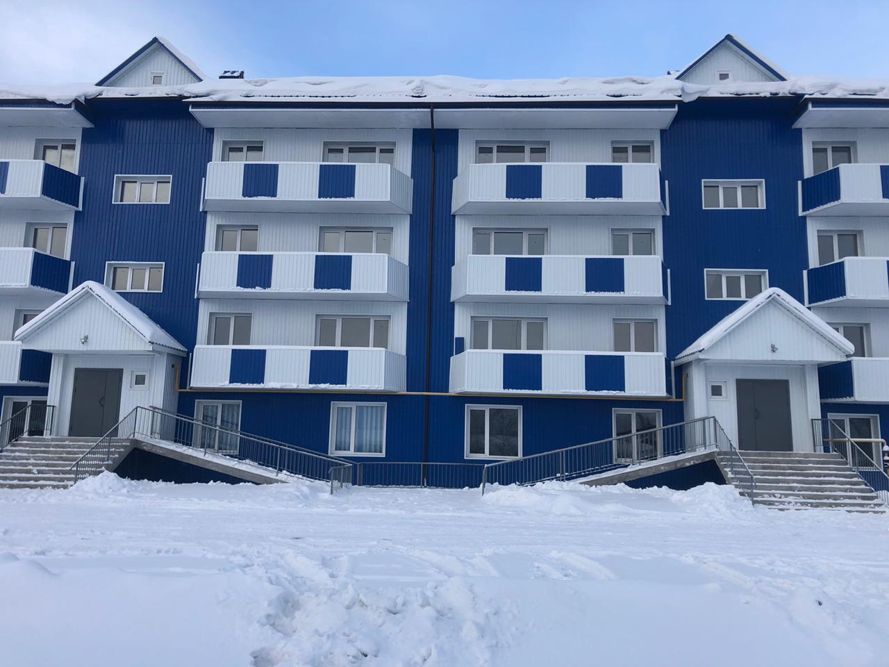 В преддверие Нового года компания «Железные дороги Якутии» сдала новый жилой дом в Томмоте