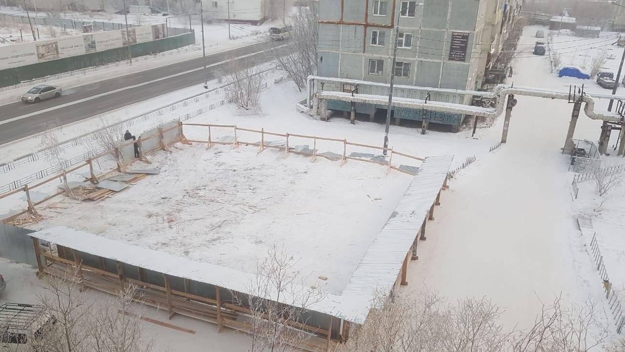 Разрешение на строительство магазина на земельном участке по ул. Ярославского в Якутске будет отозвано