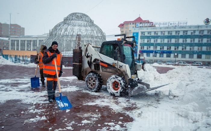 За декабрь с городских улиц вывезено 30 тысяч кубометров снега