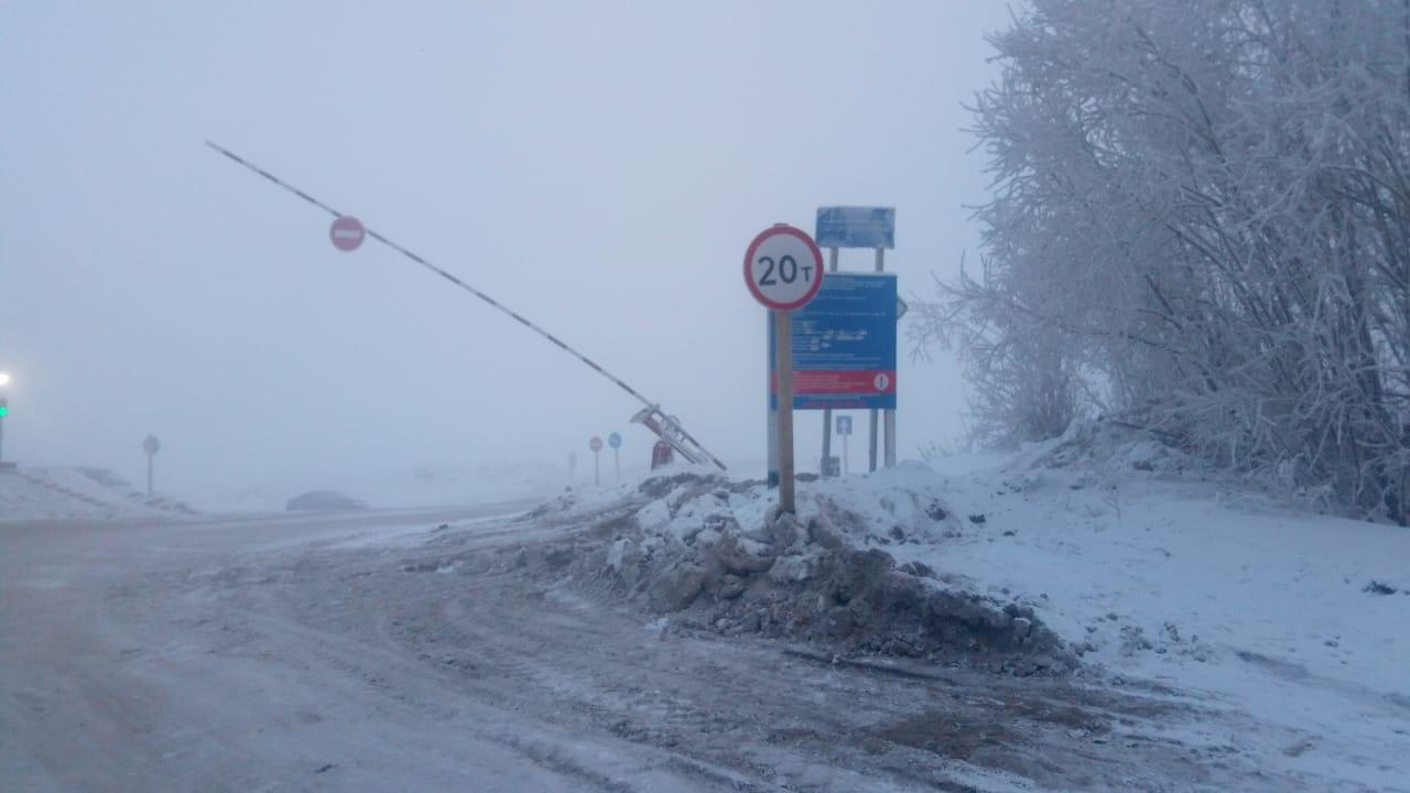 Увеличена грузоподъёмность на ледовом автозимнике «Якутск – Нижний Бестях»