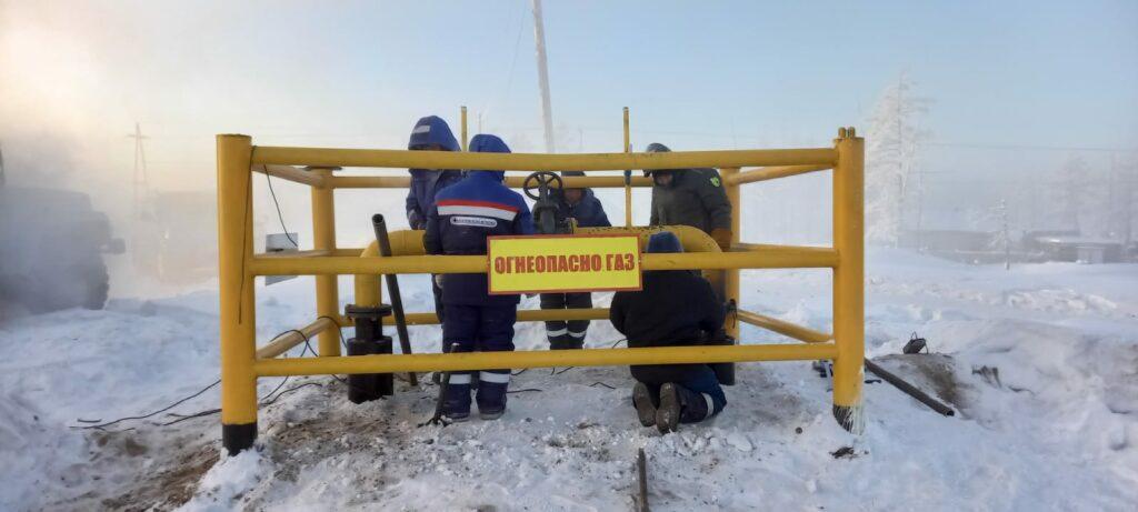 Газовики оперативно устранили последствия снижения давления в газопроводе в селе Толон