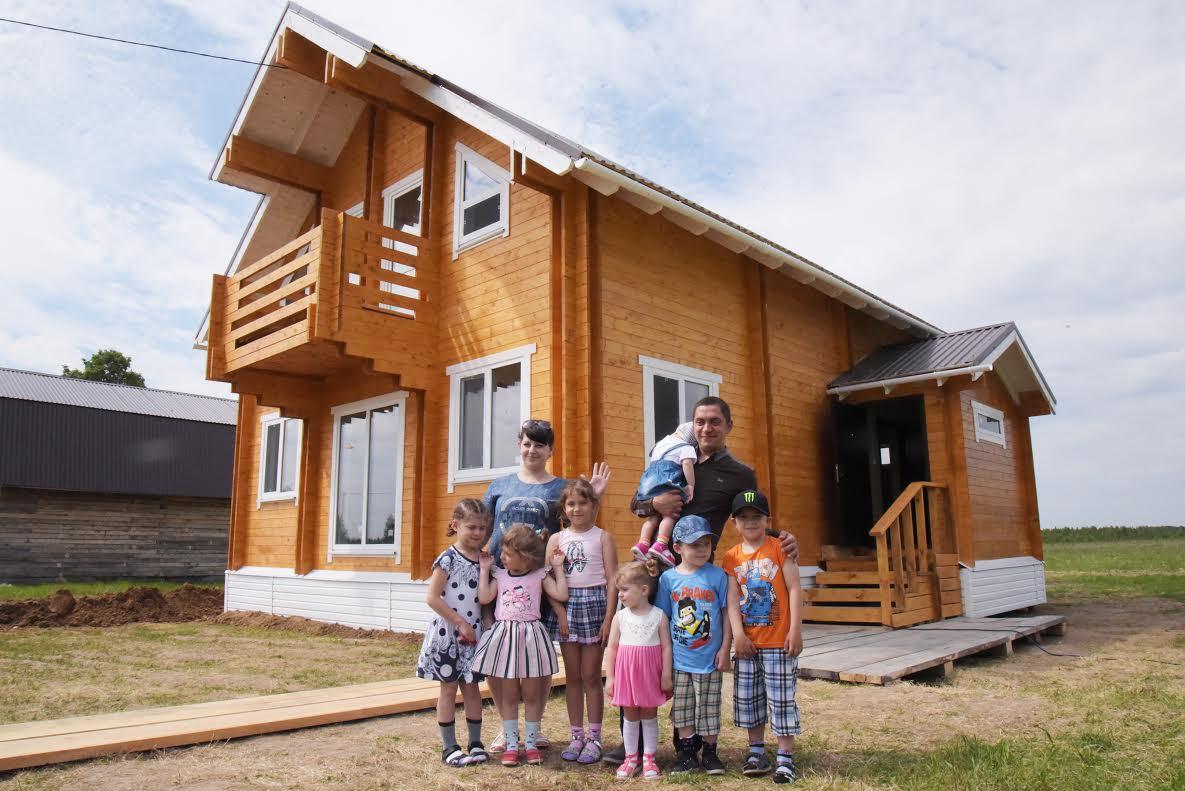 В Якутии изменены Правила предоставления социальной выплаты по обеспечению жильем многодетных семей с 10 и более детьми