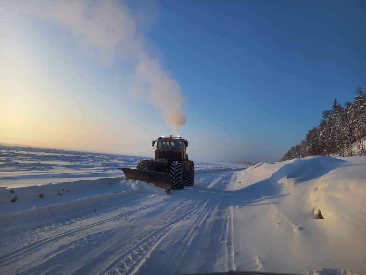 Открыты участки зимника «Умнас» в Хангаласском и Олекминском районах