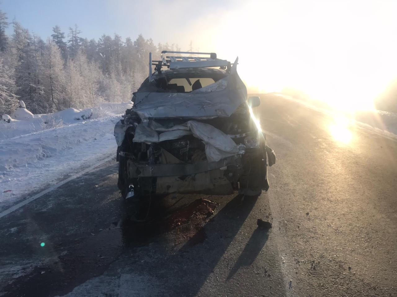 В Якутии густой туман и выхлопные газы автомобилей стали причиной аварий