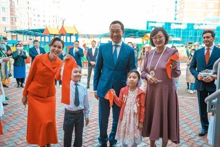 Детский сад «Сардаана» — один из 12 объектов, построенных Группой «ВИС» в Якутске