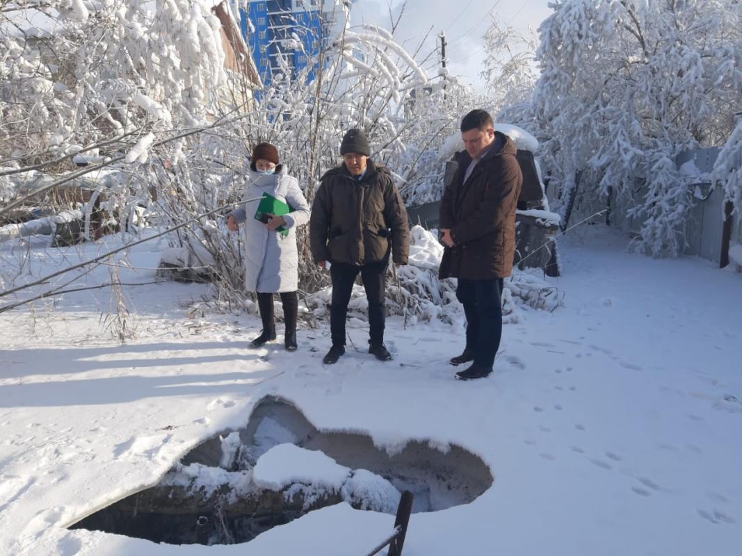 Роман Сорокин проверил санитарное состояние Автодорожного округа