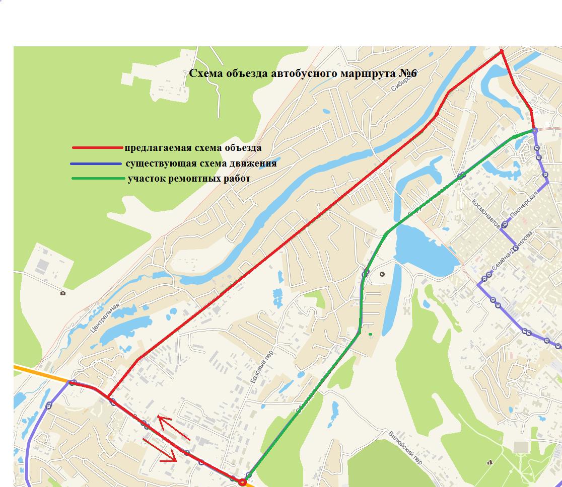 На Окружном шоссе будет ограничено движение транспорта. Схема объезда автобусов