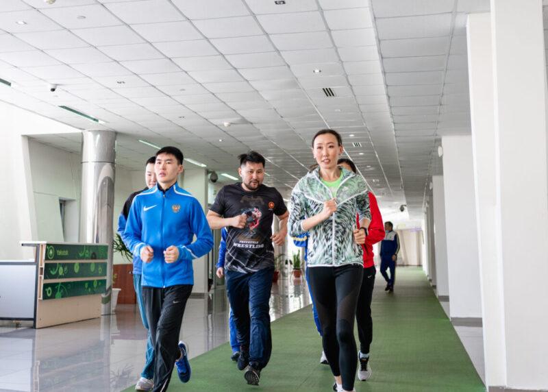Спортсмены озвучили предложения по развитию спорта в Якутске Евгению Григорьеву