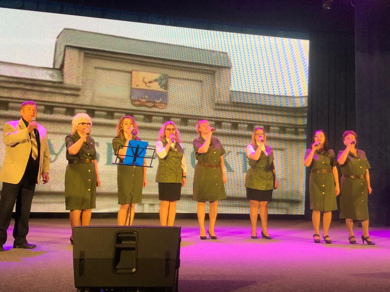 Вокальный ансамбль «Железные дороги Якутии» принял участие в праздничном концерте, посвященном Дню защитника Отечества