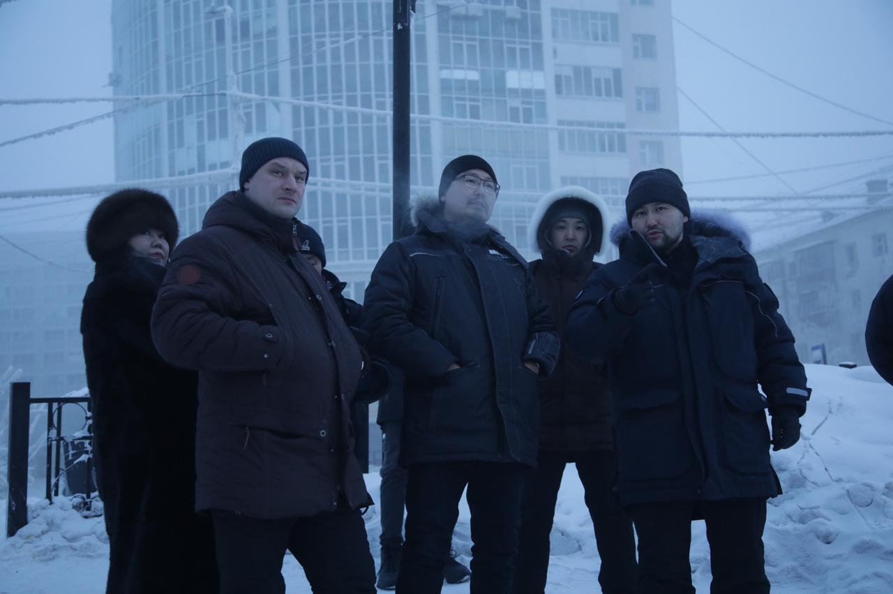 Евгений Григорьев проверил работу управляющих компаний Якутска