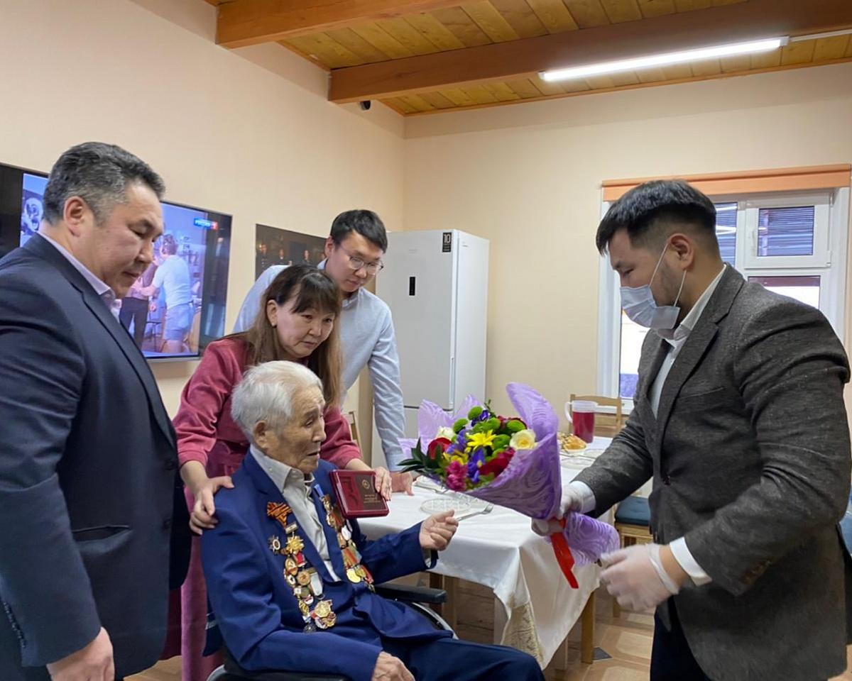 Ветеран войны Губинского округа награжден Знаком отличия «Гражданская доблесть»