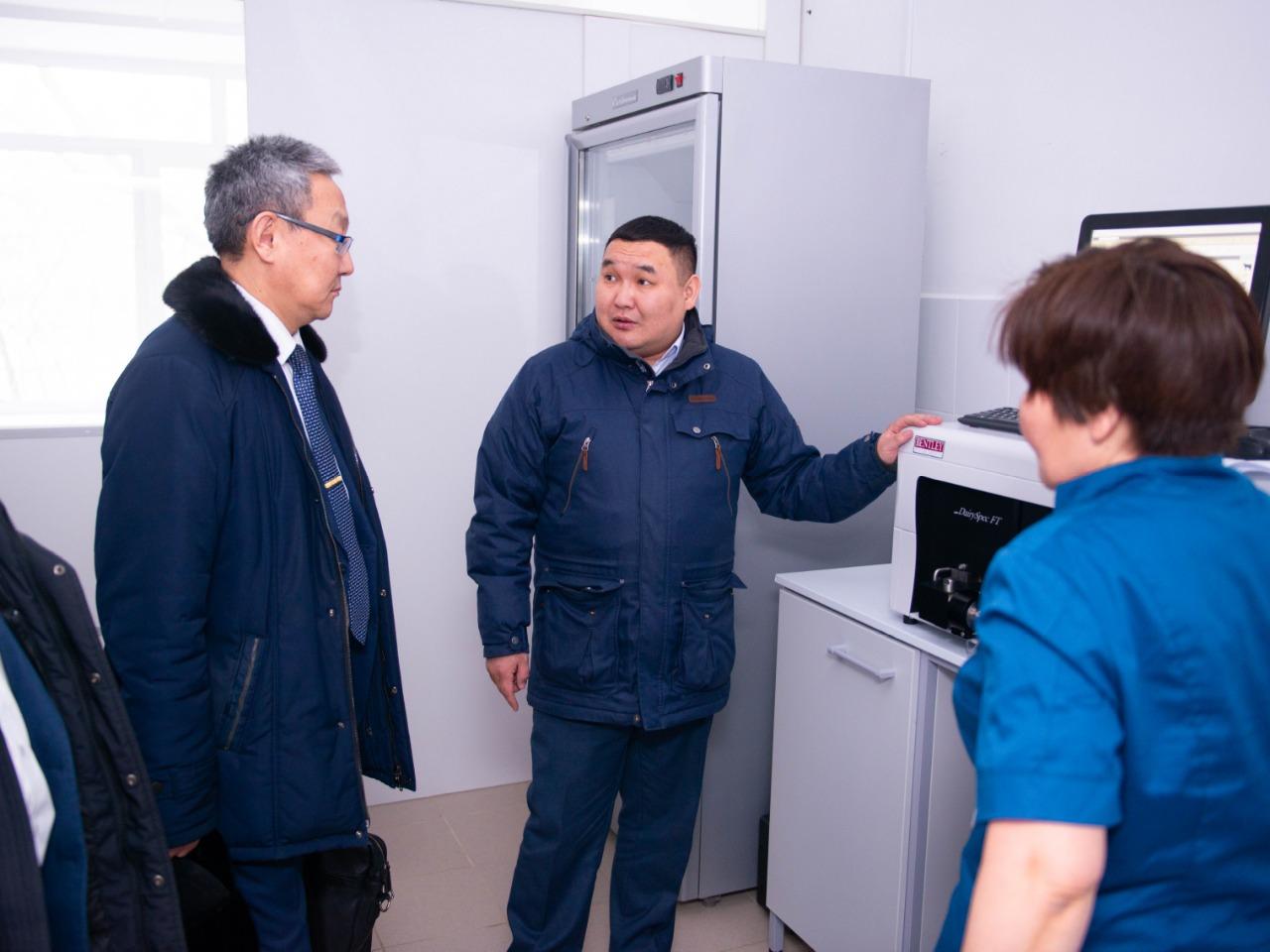 АГАТУ продолжает работу с сельхозпредприятиями Якутии