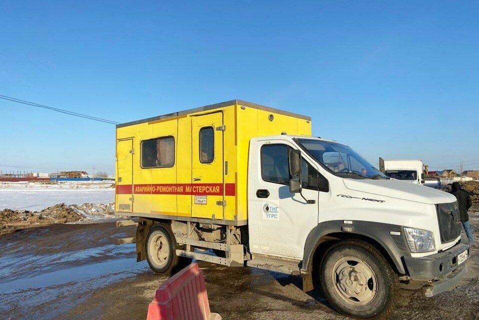 В Якутске в районе Птицефабрики прорвало газопровод