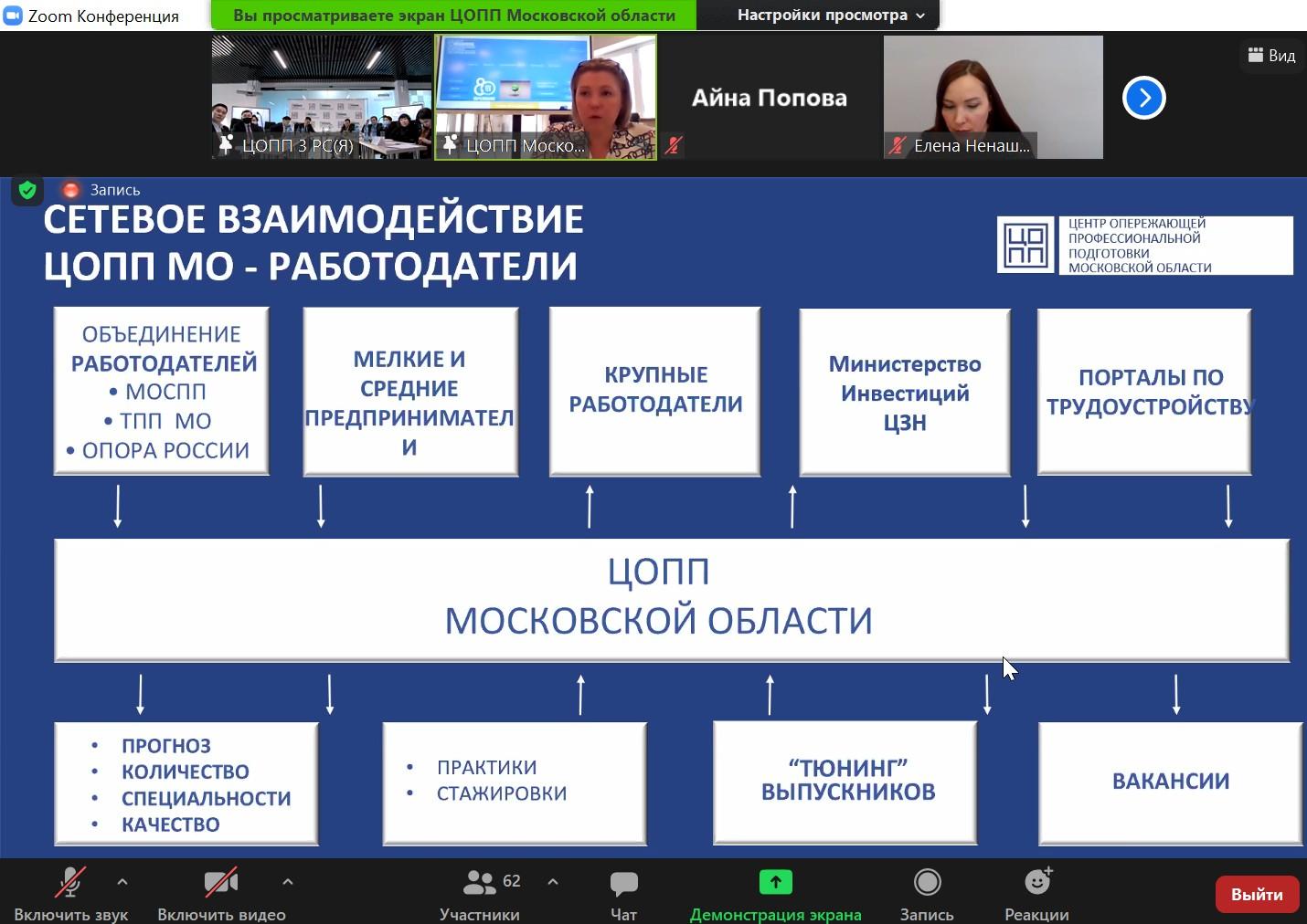 Обмен опытом: делегация из регионов России посетила ЦОПП