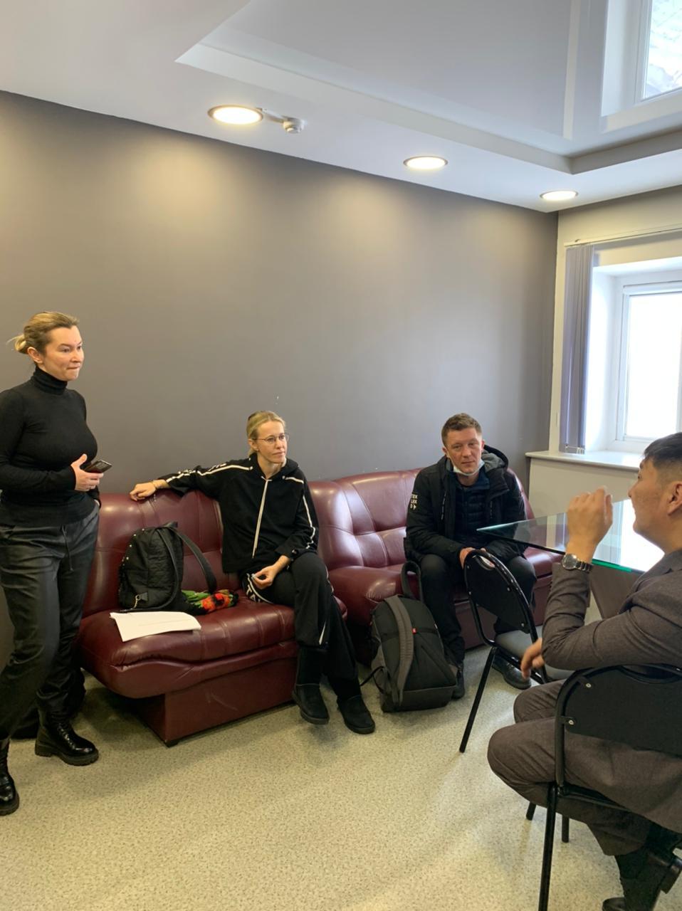 Собчак в Якутии снимает фильм о фильме