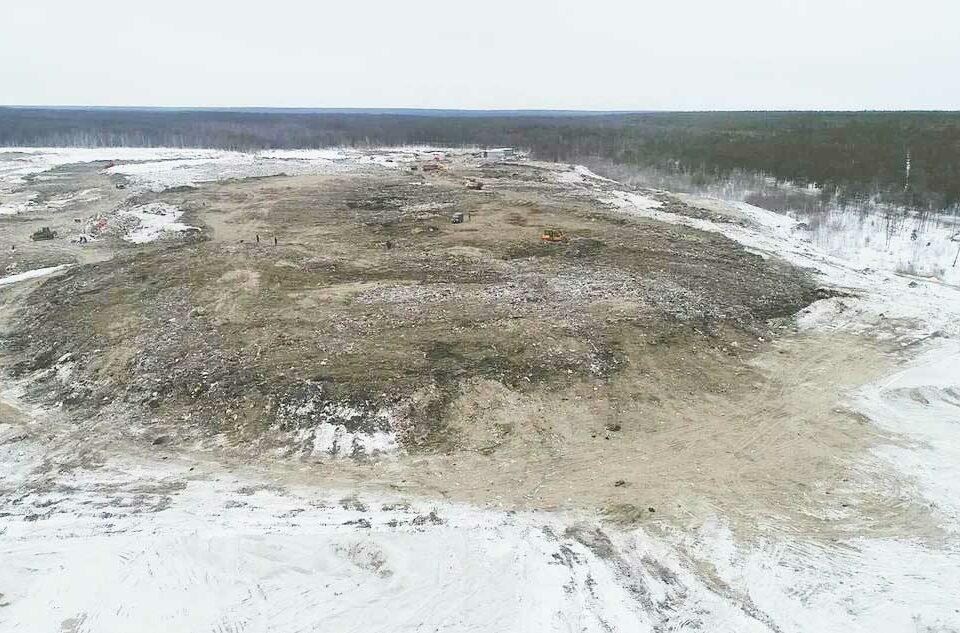 Возгорание на мусорном полигоне Якутска ликвидировано